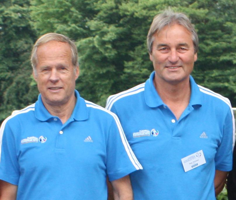 Horst Wein und Peter Schreiner auf dem JTK2010